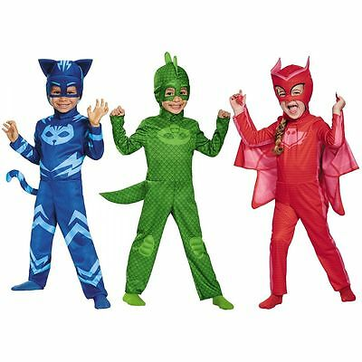 Disguise PJ Masks Catboy Gekko Owlette Classic Kids Toddler Halloween Costume  - Classic Kid Halloween Costumes