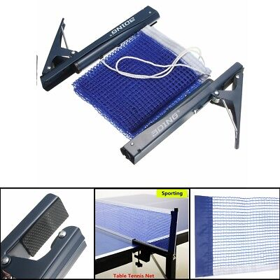 Portable Table Tennis Ping Pong Net Post Clamp Stand Holder Mesh Rack  Replaces 2758b0a8ebd6e