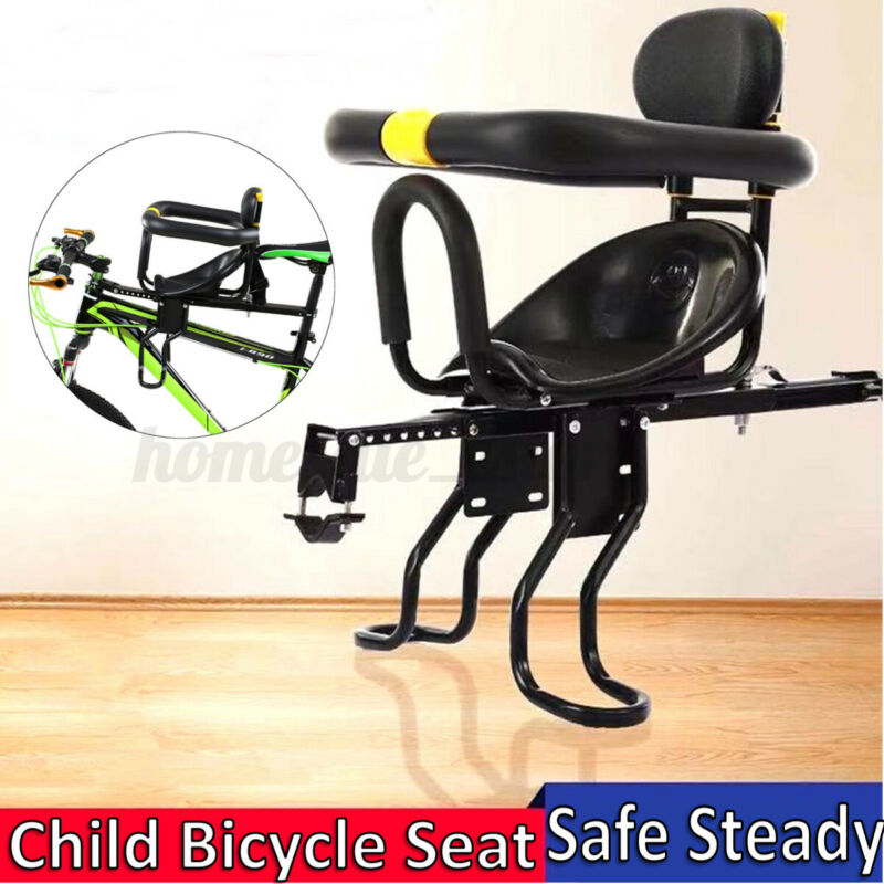Kids Front Bike Seat Child Bicycle Safety Chair Baby Carrier Saddle With Pedal
