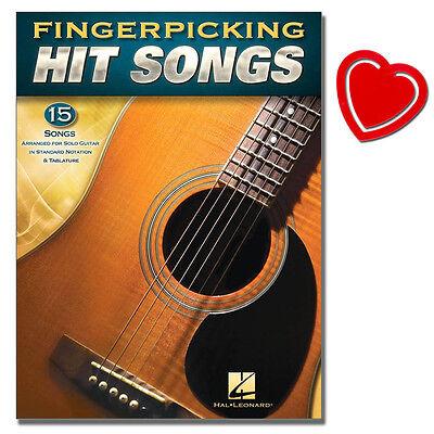 Fingerpicking Hit Songs - Gitarre Noten - HL00160195 - 9781495064258