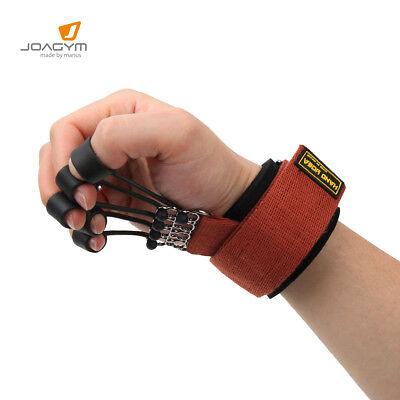 Finger Stretcher Hand Strengthener Extensor Exerciser Resistance Bands Training