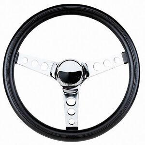 Steering-Wheel-11-1-2-3-3-4-034-Dish-Rat-Rod-Hot-VW-Dune-Buggy-Sand-Rail-79-4051