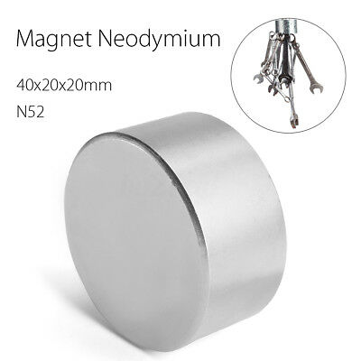 Block 40x40x20mm N52 Super Strong High Quality Rare Earth Neo Magnet Neodymium