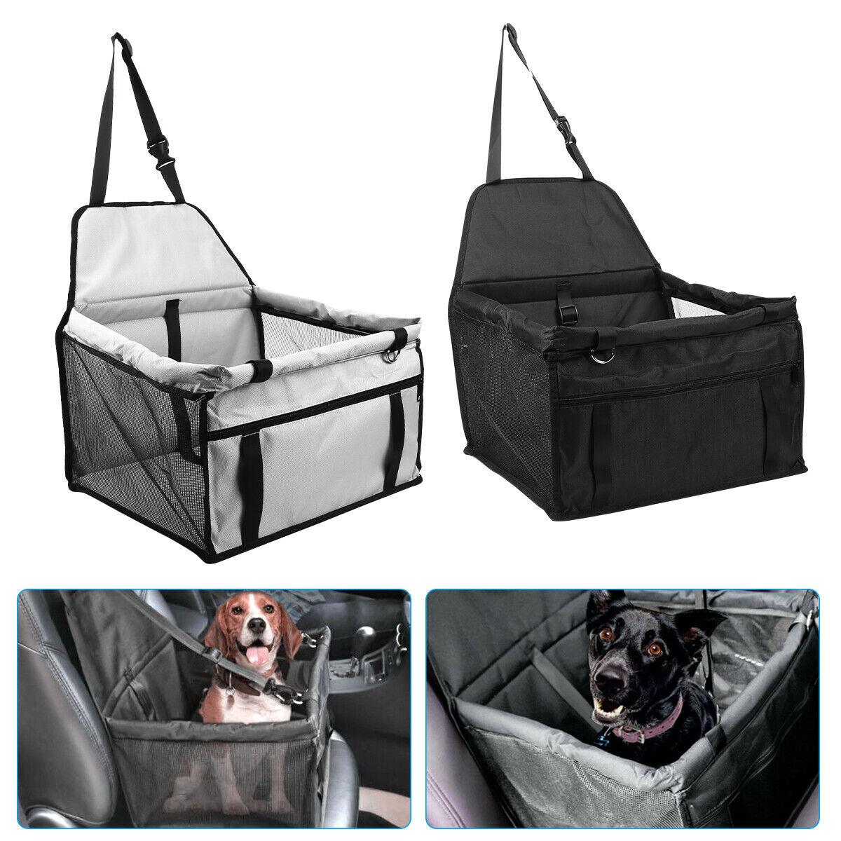 Large Soft Pet Dog Car Seat Bed Foldable Carrier Basket Boos