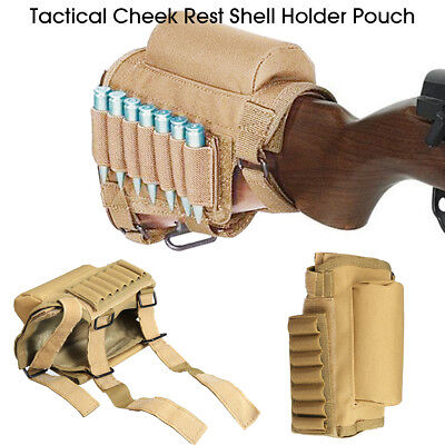 Tactical Molle Pouch Belt Pack Bag Military Pocket Backpack with 7 Shells  ! Pocket Shell Pack
