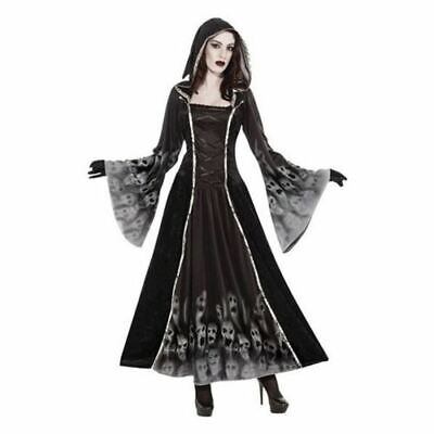 Damen Halloween Gothik Braut Zombie Maskenkostüm