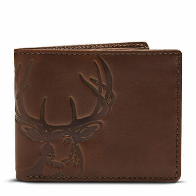 House Of Jack Deer Double ID Bifold Dark Brown Dark Brown Deer