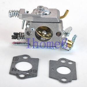 Replace Poulan 2750 2900 3050 Chain Saw Carburetor Carb # WT-834 WT834 & Gasket