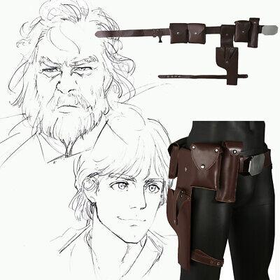 Star Wars Luke Skywalker Cosplay Belt Adjustable Costume Prop Accessories Adult - Luke Skywalker Halloween Costume Adults