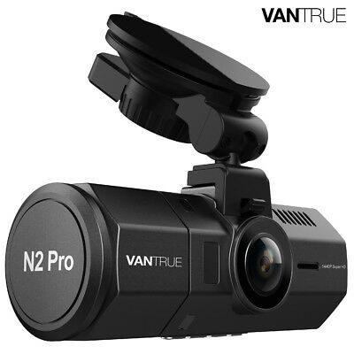 Vantrue N2 Pro Uber Dual Dash Cam Vehicle Cam Recorder, Night Vision Dash Camera