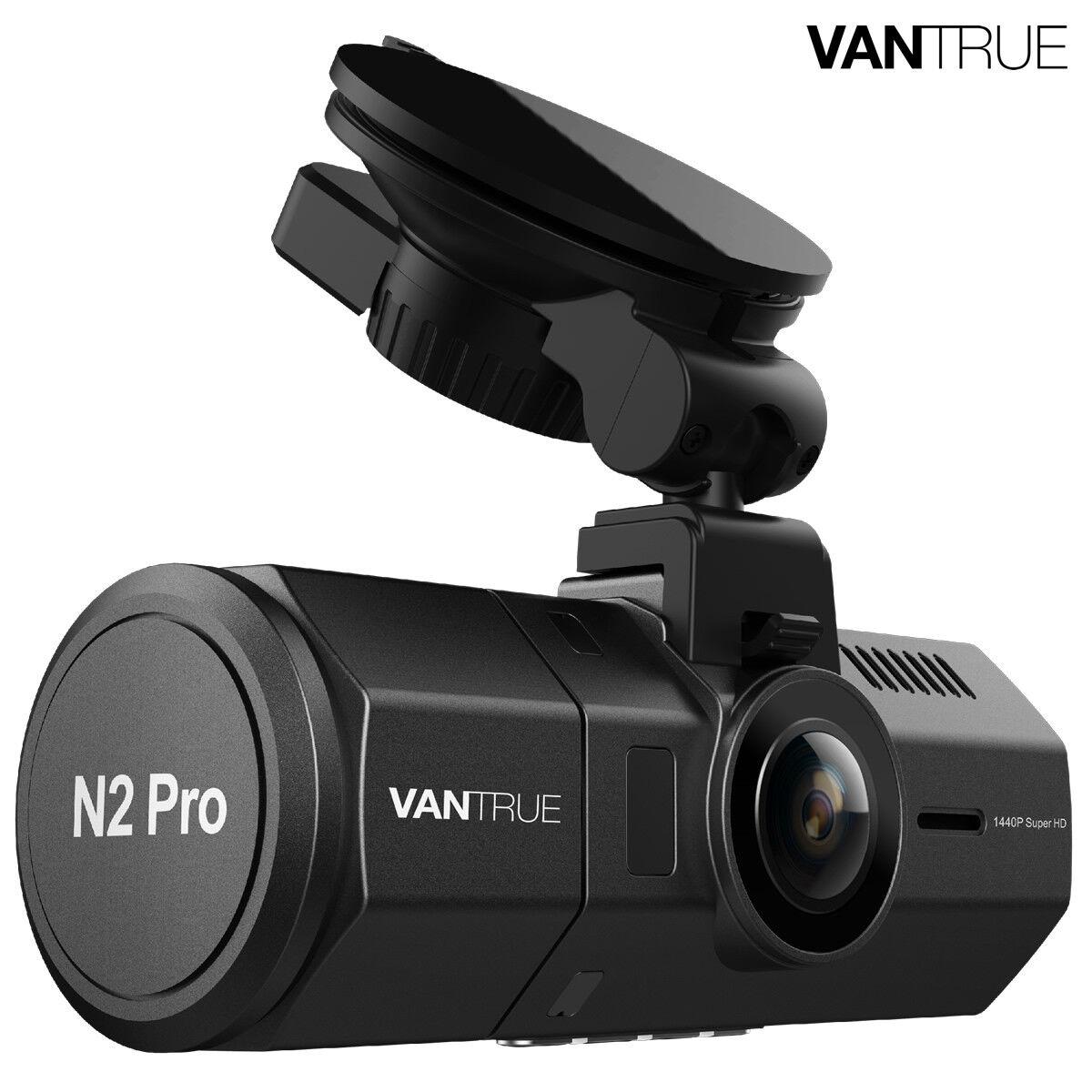 Vantrue N2 Pro Uber Dual Dash Cam Vehicle Cam Recorder, Nigh