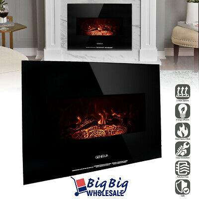 1400w 26 wall mount electric fireplace heater