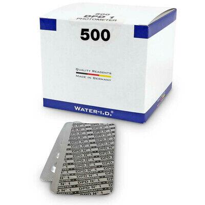 Cloro Pastillas de Medición Dpd N° 1 Para Photometer - 500er Paquete