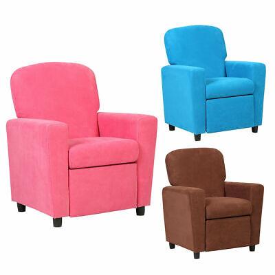 Kids Recliner Sofa Armrest Chair Couch Lounge Children Livin