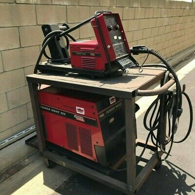 Lincoln Electric Power Wave 455 Welder Used