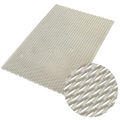 200mm X 300mm X 0.5mm New Metal Titanium Mesh Sheet Perforated Plate Expanded