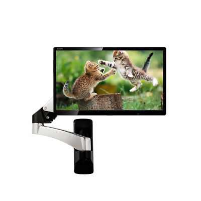 TV Wall Mount Hydraulic Arm Adjustable Monitor Bracket For 32 To 42