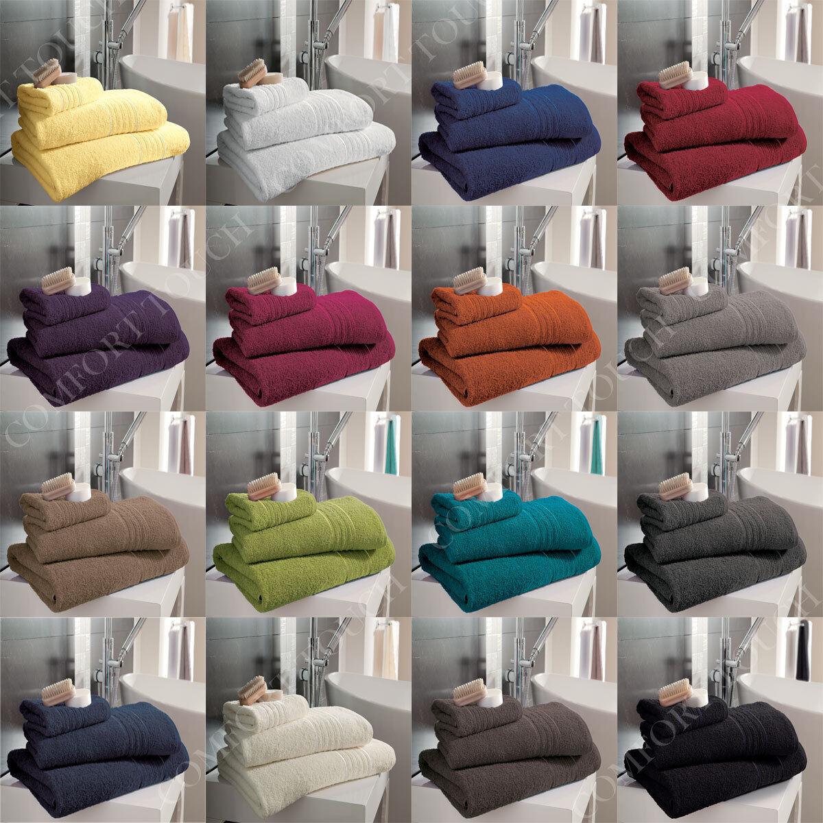 Luxury Hampton 100% Egyptian Cotton Towels Bath Sheets Super