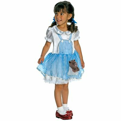DOROTHY COSTUME! THE WIZARD OF OZ BLUE DRESS RUBIE'S NEW [TODDLER]