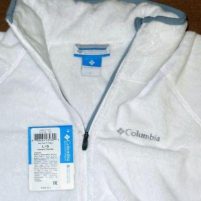 Columbia Women's Pearl Plush II Fleece Jacket, XS/L/XL Beacon - $85 NWT! Columbia Pearl Plush