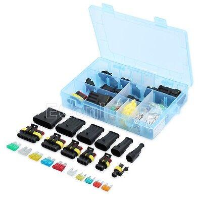 Auto KFZ Stecker Kit Steckverbindung Wasserdicht Kabel 1/2/3/4/5/6 polig MA867