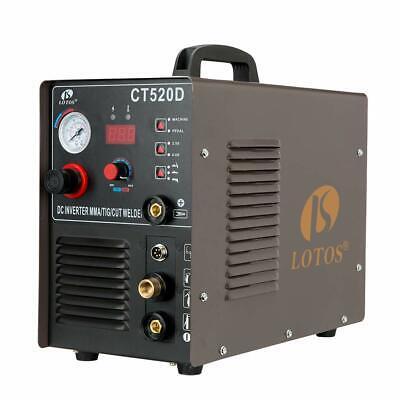 Lotos Ct520d 50a Air Plasma Cutter 200a Stick Welder Combo