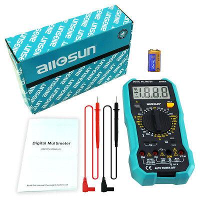 all-sun EM8910 Digital Multimeter Multi Tester Backlight AC/DC Continuity Meter