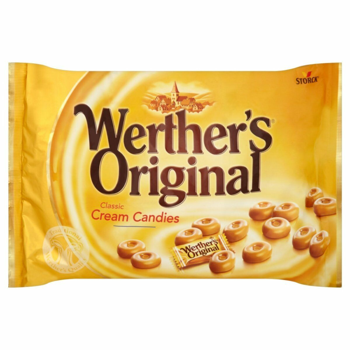 werthers original classic cream candies bulk 1kg share bag retro