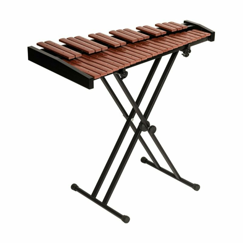 Stagg Portable 37-Key Desktop Synthetic Xylophone Set with Gig Bag