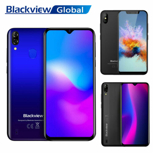 Blackview A60 A60 Pro A30 Android Handy Waterdrop Smartphone 16GB ROM Dual SIM
