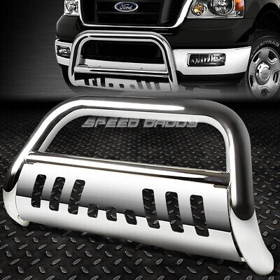 FOR 04-16 FORD F150 NON-ECOBOOST/03+EXPEDITION CHROME BULL BAR PUSH BUMPER GUARD Ford F150 Bull Bar