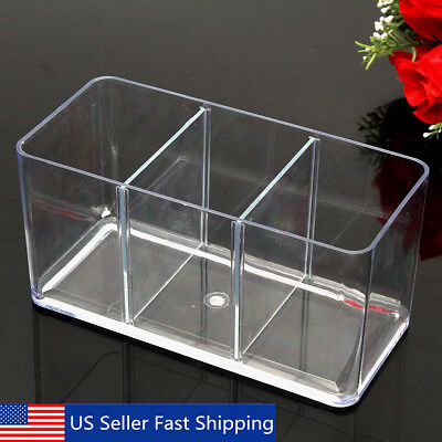 Three-Way Acrylic Tank Fighting Betta Fish Display Case Trap Aquarium Breeding