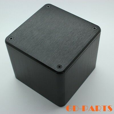 - 1PC 110*110*96mm Aluminum Transformer Protect Cover Enclosure Vintage Tube AMP