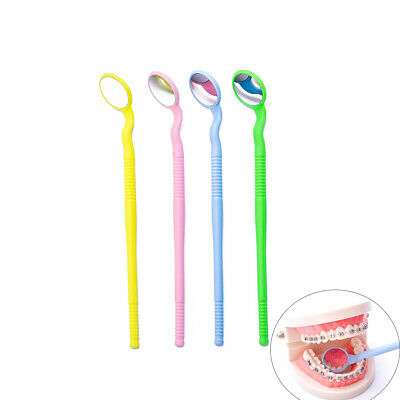4pcspk Easyinsmile Dental Autoclavable Intro Oral Mirror Mouth Reflector Mirror