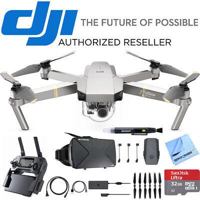 DJI Mavic Pro Platinum Quadcopter Drone w/ 4K Camera + Virtual Reality Bundle