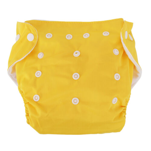 New 10pcs+10 INSERTS Adjustable Reusable Lot Baby Washable Cloth Diaper Nappies