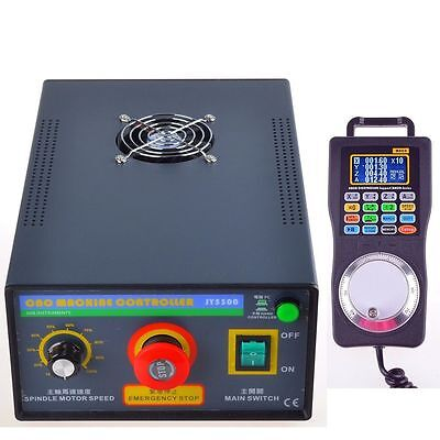 Jy5300-2 Cnc Controller Box Mhc2 Handwheel Pendant Mpg Mach3 Supported