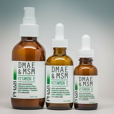 DMAE & MSM Serum-Natural Organic Skin Firming Anti Aging Wrinkle Skin Care Cream