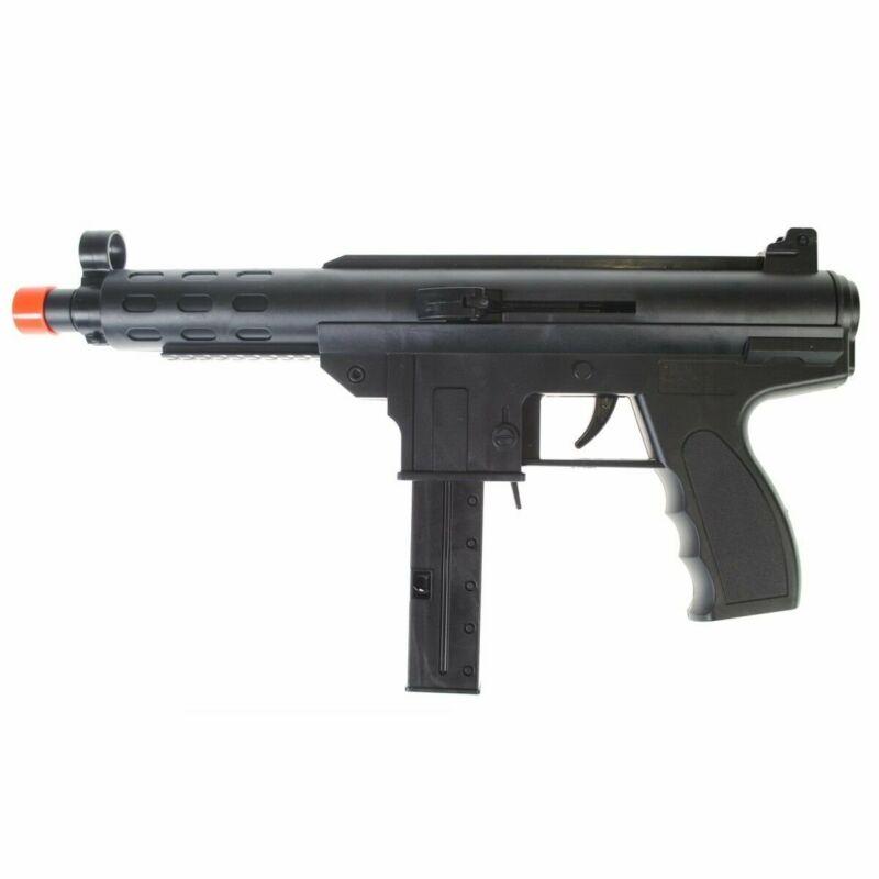 250 FPS - Dark Ops Airsoft Spring Mini Tec9 Tactical Airsoft Gun Rifle + 6mm BBs