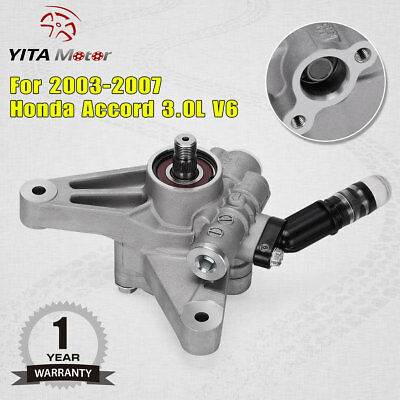 Fit For 2003 2004 2005 2006 2007 Honda Accord 3.0L V6 Auto Power Steering Pump 2003 Honda Accord Power Steering Pump