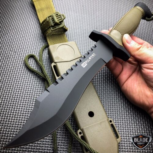 12 combat tactical survival hunting knife w