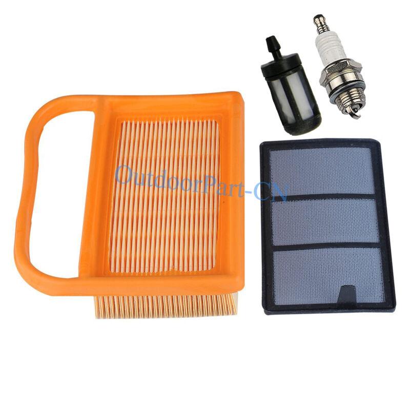 AIR FILTER FUEL FILTER SPARK PLUG SET STIHL TS410 TS 410 TS420 TS 420 SAWS COMBO
