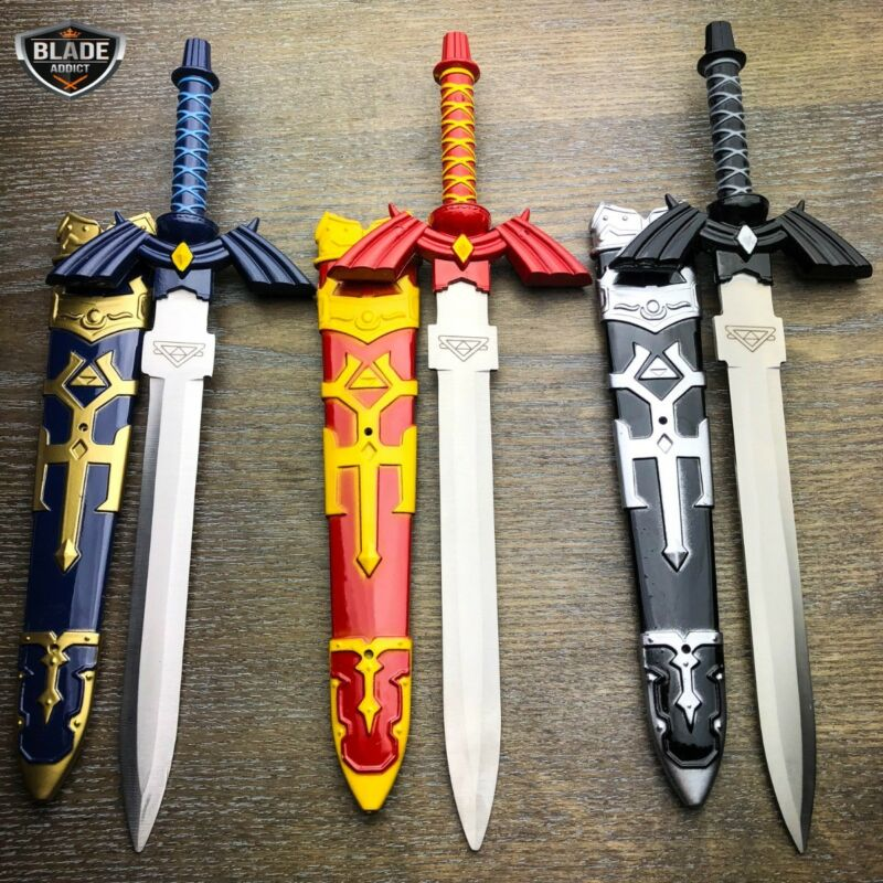 "12"" LEGEND OF ZELDA Dark Link MASTER SWORD Short Hylian Cosplay Replica Dagger"