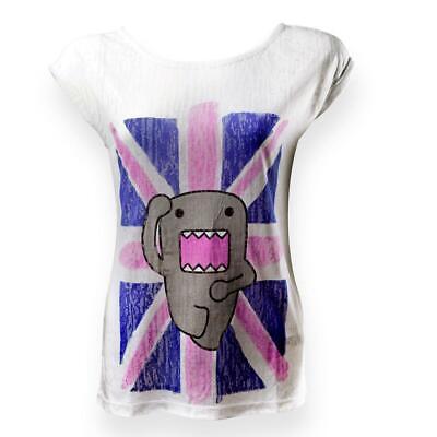 Camiseta Domokun Suéter Bandera Inglés Camiseta Modelo Mujer Talla L