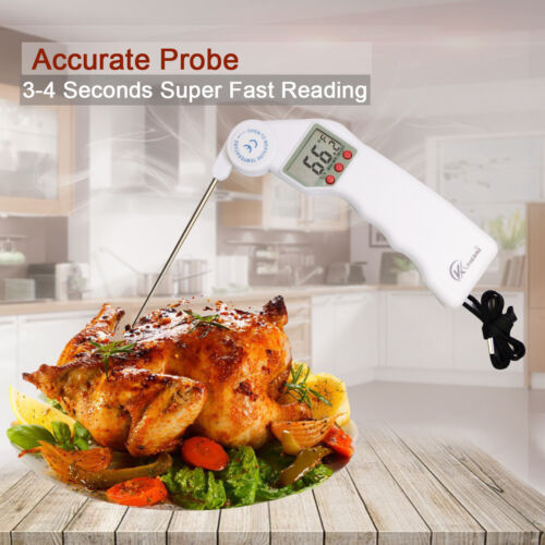 LCD Meat Thermometer Probe Digital Instant Read Food Cooking