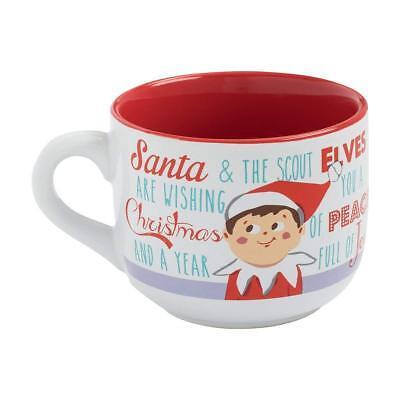 ELF ON THE SHELF - SOUP MUG - BRAND NEW 20 OUNCES - COFFEE CHRISTMAS 31053