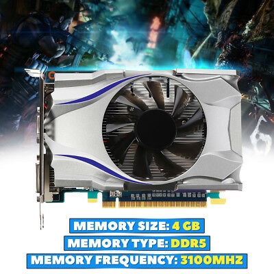GT730 4GB GDDR5 128Bit Express Game Video Graphics Card For NVIDIA GeForce US