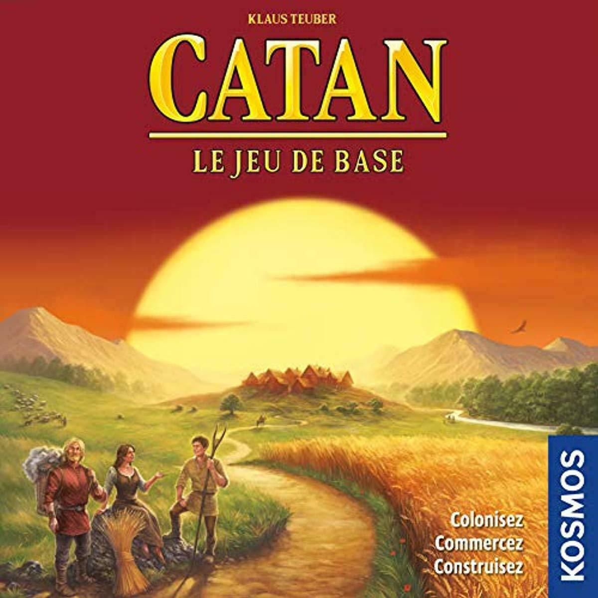 Jeu de Strat/égie Asmodee Le Jeu de Base 3//4 joueurs Catan