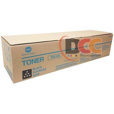Konica Minolta Tn210k Black Toner Cartridge For Bizhub C250 C252 Tn210 8938505