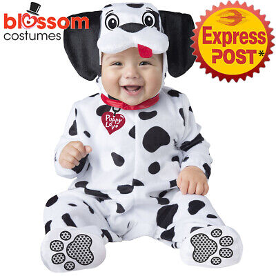 CK1418 Dalmation Baby Puppy Dog Toddler Halloween Cute Costume Jumpsuit Animal